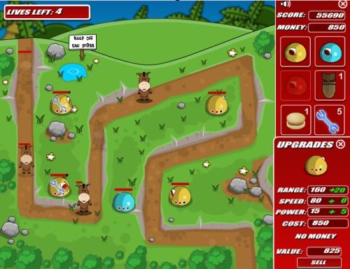 Bananageddon Tower Defense Game