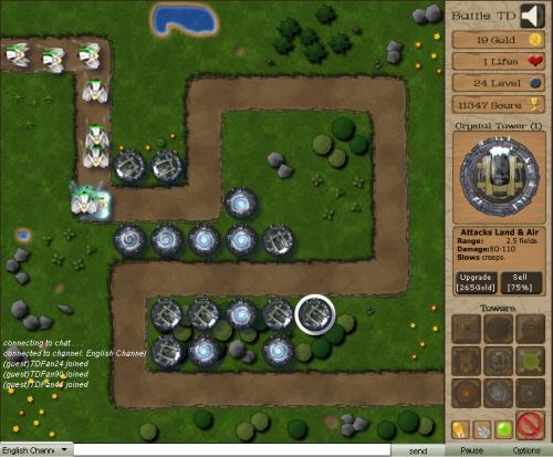 Battle TD Tower Defense Game