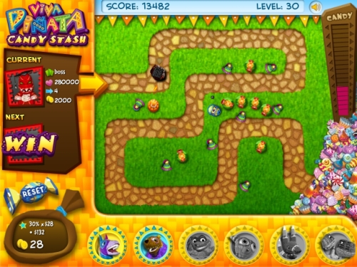 Candy Stash Tower Defense Game