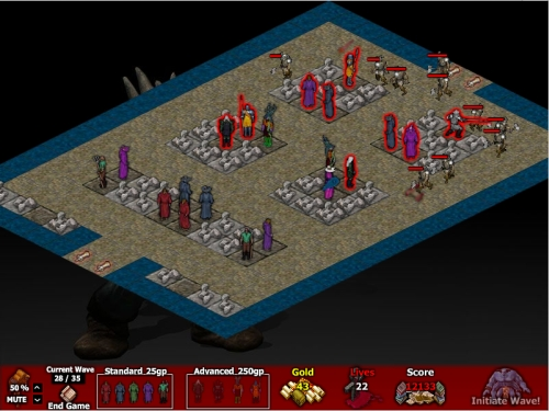 Recopilación de Juegos Tower Defense  DefenderTD