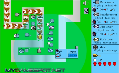 Destroy the Toy Tower Defense Game