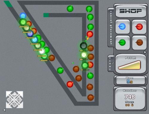 Elemental Tower Defense Game