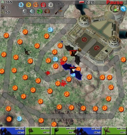 Elite Forces Defense Game