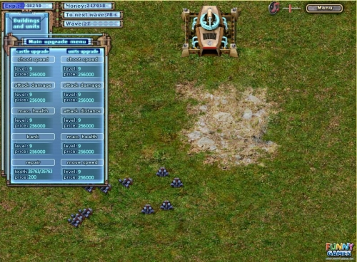 Flash Conquerors Strategy Game
