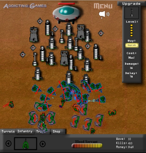 Galactic Conquest Tower Defense Game