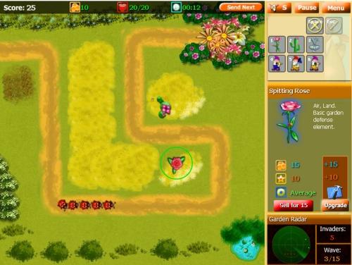 Garden Inventor Tower Defense Game