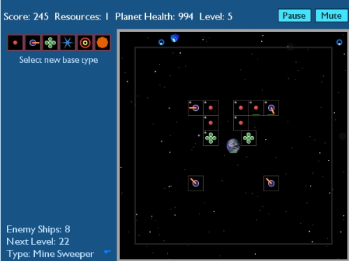 Home Planet Defense Tower Defense Game