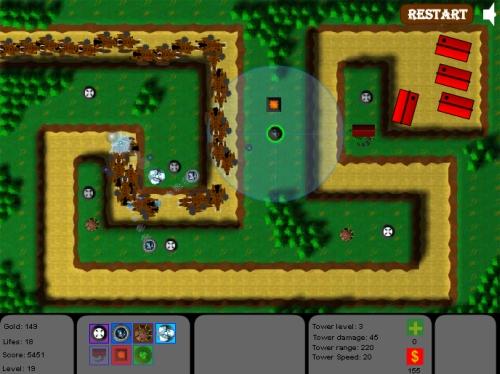 Hybra TD Tower Defense Game