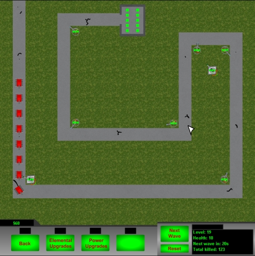 Turret Defense Tower Defense Game