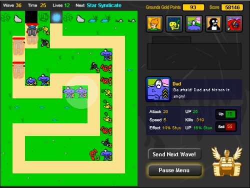 Portal Defense Tower Defense Game