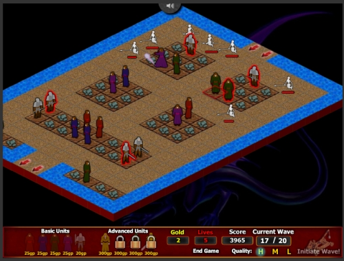 Protector Tower Defense Game