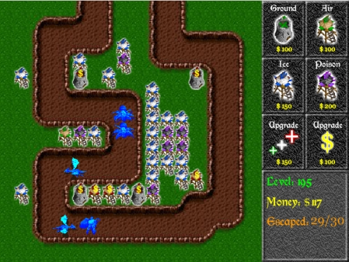 Ramparts Tower Defense Game