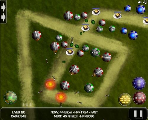 Random Defence Tower Defense Game