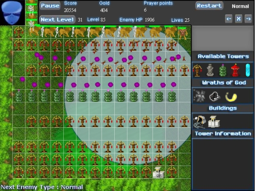 RPG Defense Tower Defense Game