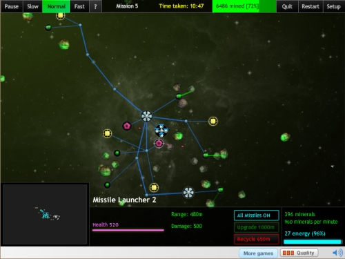 The Space Game - Strategy Game