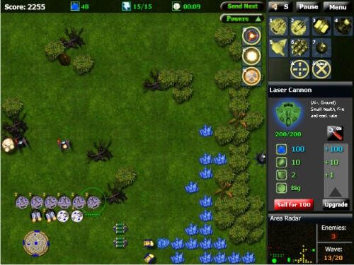 Star Rebellion Tower Defense Game