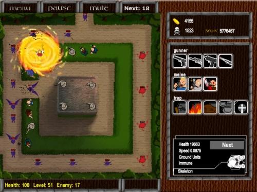 Village Defense Tower Defense Game