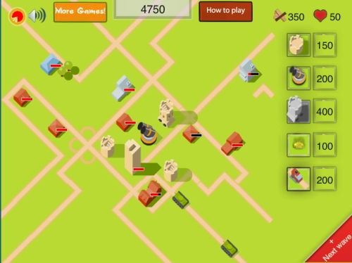 Villagers Tower Defense Game
