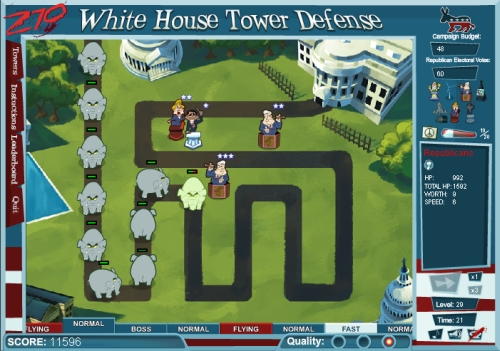 270: White House - Tower Defense