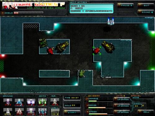 Xeno Tactic 2 Tower Defense Game