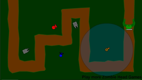 Zombie TD 2 Tower Defense Game